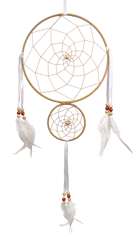 8 double ring dreamcatcher wholesale dreamcatchers for How to make a double ring dreamcatcher
